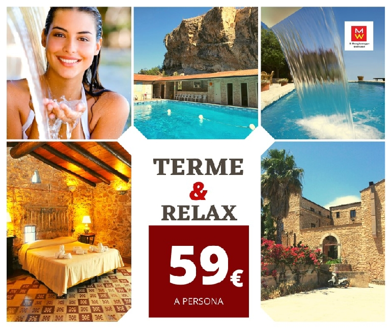 Weekend Terme & Relax €59 Alcamo